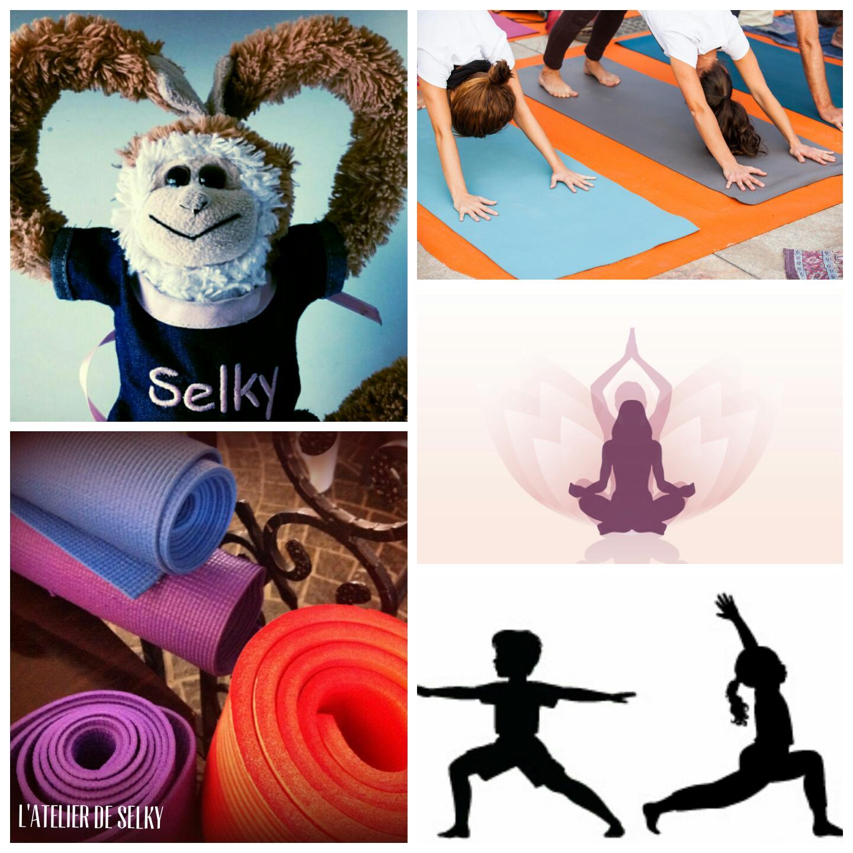 Mini Yoga à l'Atelier de Selky