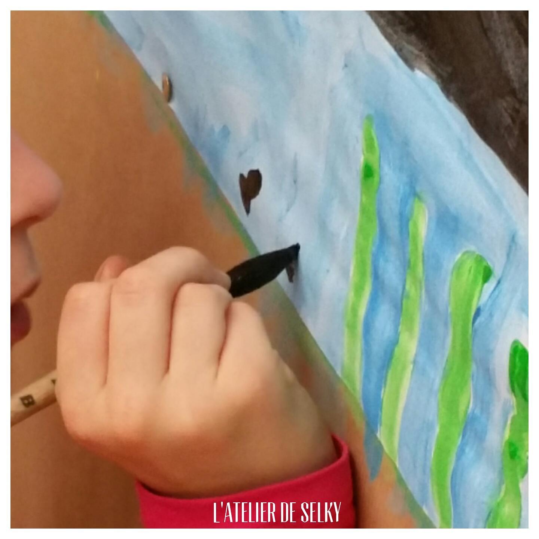 Les premiers stages du Jeu de Peindre - L'Atelier de Selky 3
