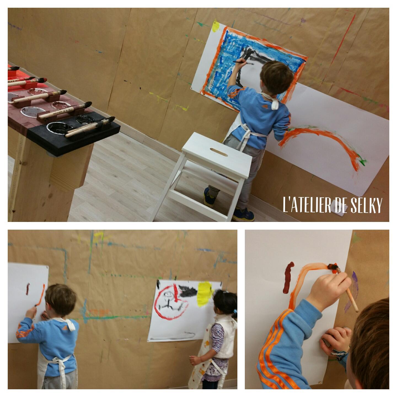 Les premiers stages du Jeu de Peindre - L'Atelier de Selky 6