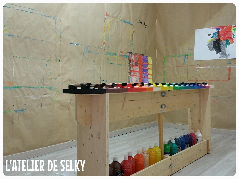 Les premiers stages du Jeu de Peindre - L'Atelier de Selky 7