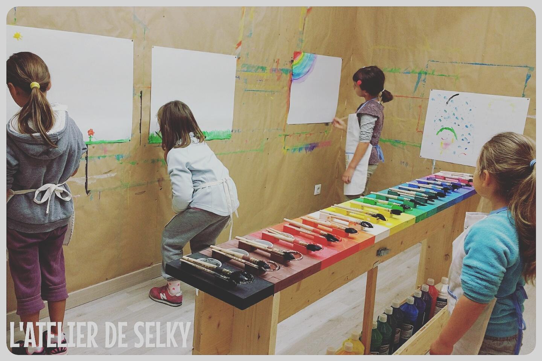 Les premiers stages du Jeu de Peindre - L'Atelier de Selky 2