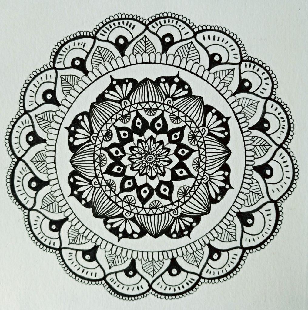 Atelier de Selky - dessin méditatif Zen and Doodle 4