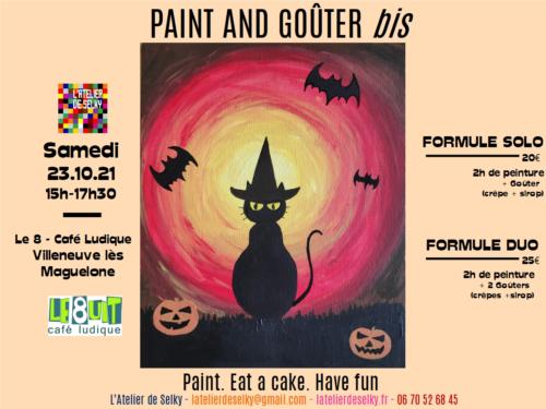 Paint and Goûter Challoween - nouvelle date